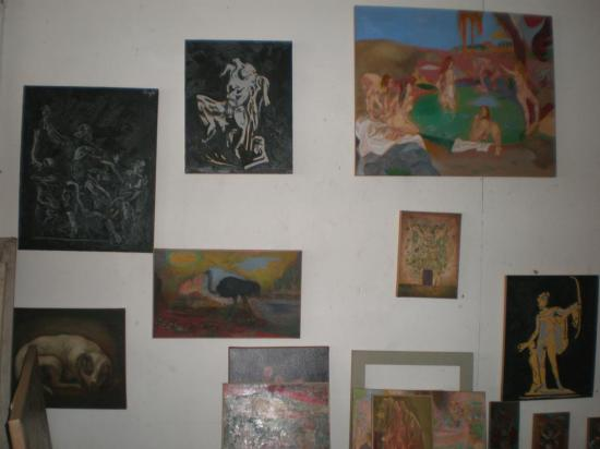 Detalle pared del taller