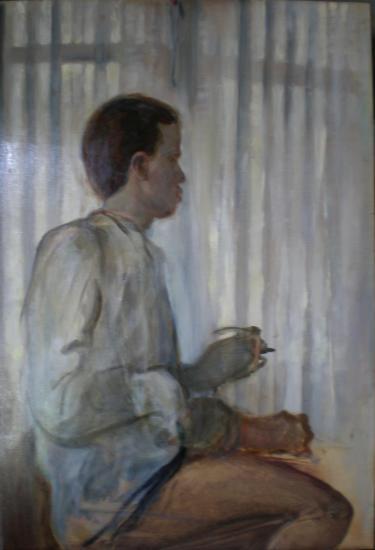 Autorretrato perfil daniel rufo 1993