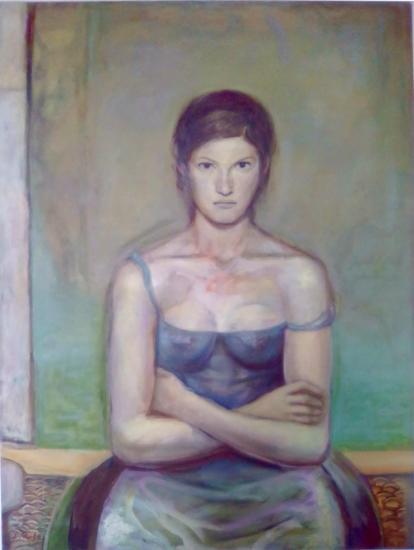 Retrato de bailarina 1993 (particular collection)